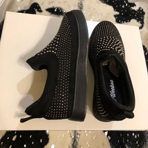 Shoes - NEW WITH BOX Black Slip On's